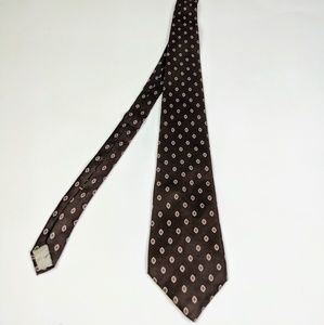 Christian Dior Brown Tie